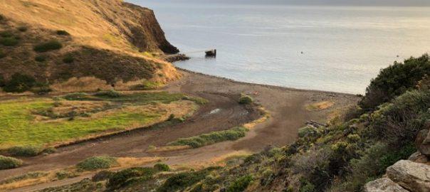 Santa Cruz Island pier